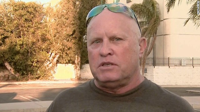 "Mike Score, lead singer for ""Flock of Seagulls"" talks with CNN affiliate KCAL about the theft of their van."