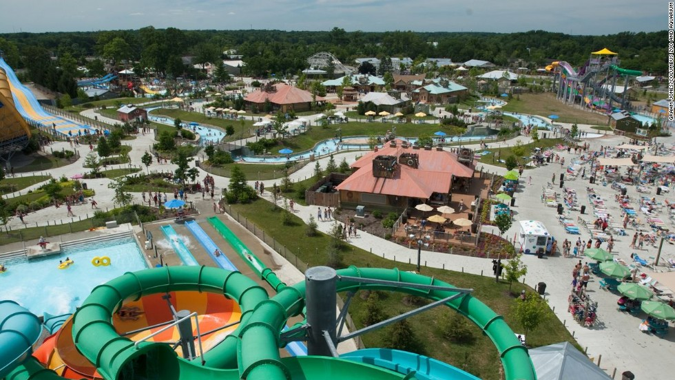 When visitors buy tickets to Zoombezi Bay water park in Powell, Ohio, they also get admission to one of the most famous zoos in the world: the Columbus Zoo and Aquarium, right next door.