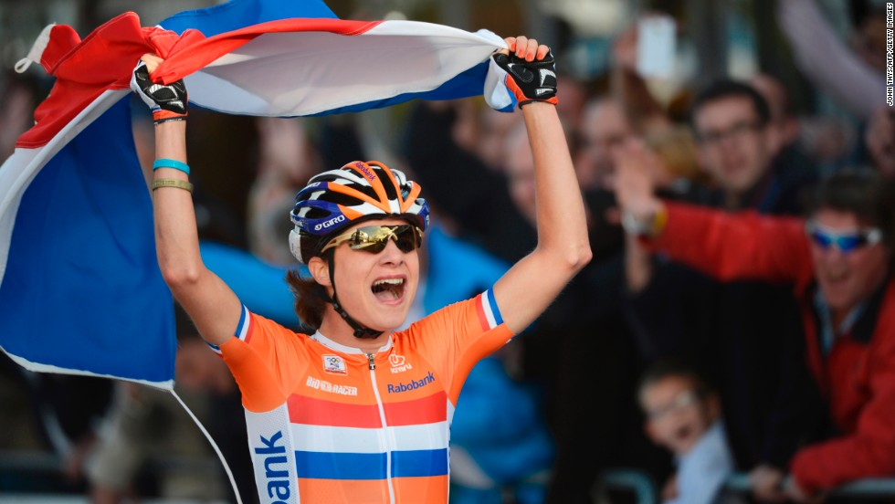 Dutch cyclist Marianne Vos has won Olympic gold and triumphed at the World Championships but she's desperate to try her luck at the women's Tour de France.