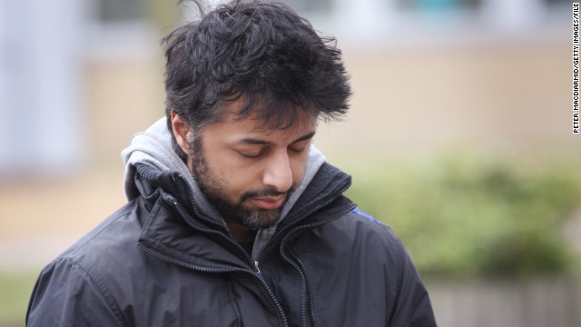 Shrien Dewani, accused of hiring hit men to kill his wife, leaves a court in London in March 2011.