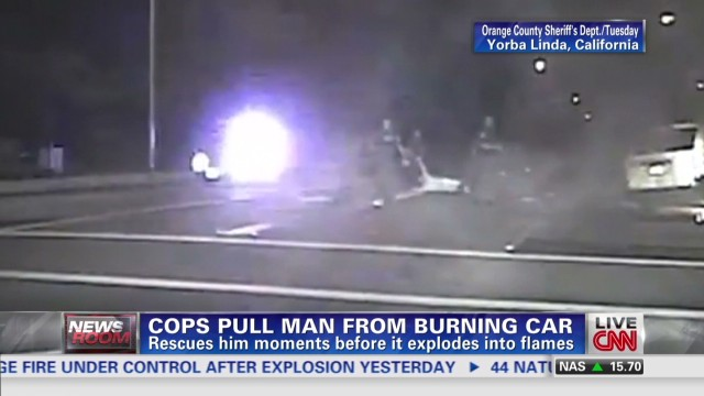exp Deputies rescue man from burning van_00002001.jpg