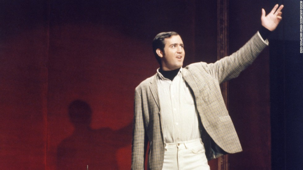 """For those who believe Andy Kaufman faked his death in 1984, <a href=""""http://www.cnn.com/2013/11/14/showbiz/andy-kaufman-alive-or-not/index.html?hpt=hp_c3"""">the latest reports</a> could have been seen as a glimmer of hope. But it now appears to be just an homage to the eccentric comedian."""