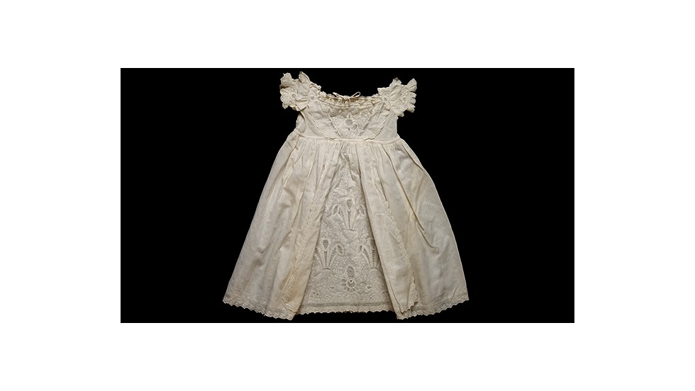 This cream robe was worn by Prince Albert Edward, later King Edward VII.