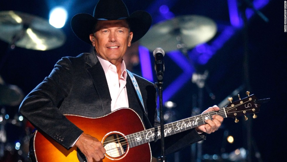 George Strait: This country music icon had 60 top songs before his 61st birthday.