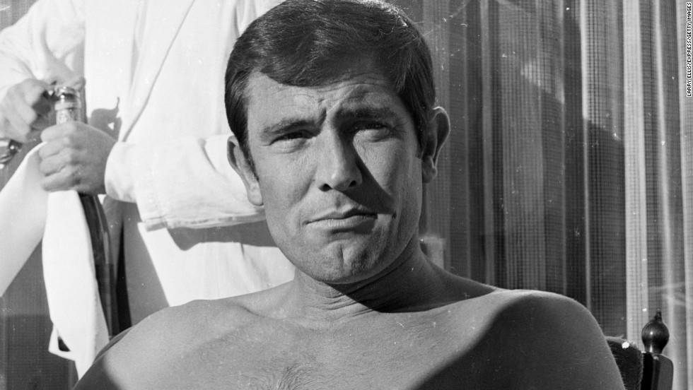 """George Lazenby: Maybe this James Bond portrayer will keep an eye on the royal family, as he did in """"On Her Majesty's Secret Service."""" Although, seeing as how he played 007 only once, maybe he's not interested."""