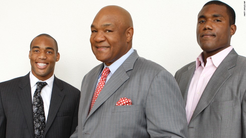 George Foreman: The two-time heavyweight champion has a home grill named after him, not to mention all five of his sons are, too.
