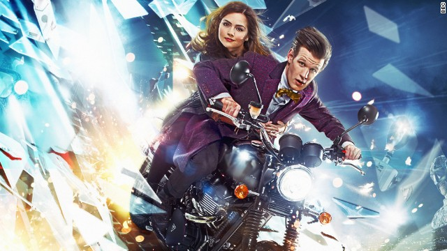 Jenna Coleman as Clara and Matt Smith as the Doctor appear in the seventh season of the popular sci-fi series.