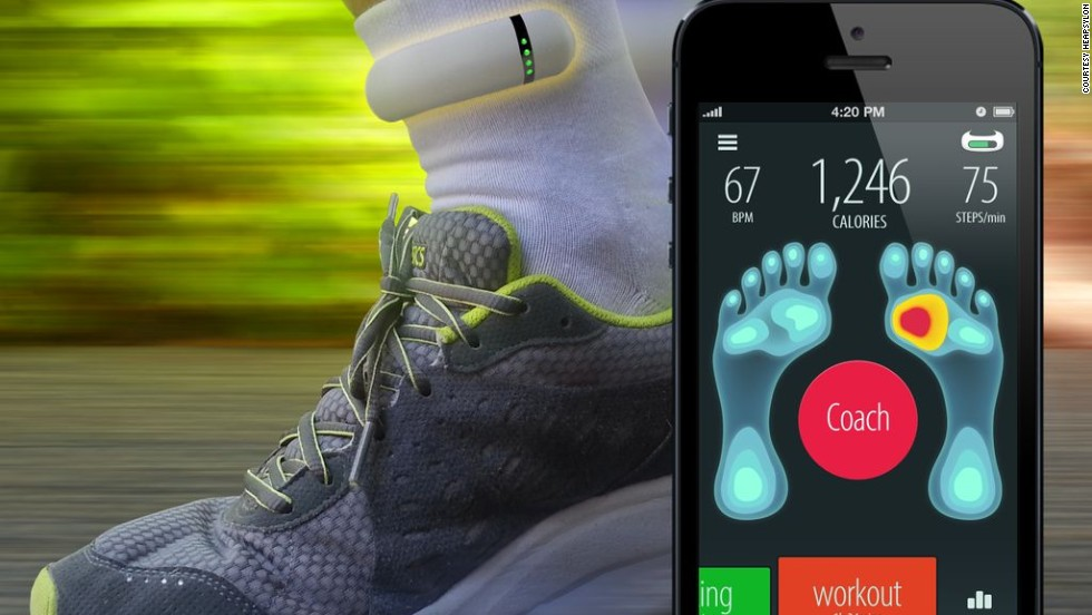 "Thanks to all those gadgets you can attach to your body, there will soon be no excuse not to exercise. And to avoid injuries in the future where everyone will jog to work, Sensoria Socks by <a href=""http://www.heapsylon.com/welcome-to-sensoria/"" target=""_blank"">Heapsylon</a> have come up with sensor-equipped textile that couples with an activity tracker to identify injury-prone running styles. Then, using a simple app, it coaches the runner to reduce those tendencies."