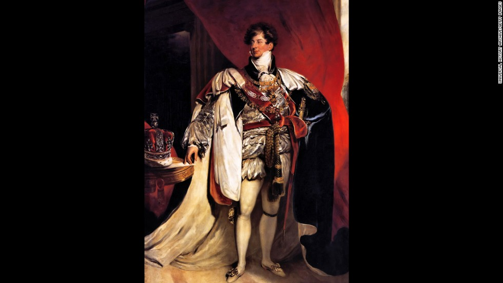 George IV (r. 1820-1830) served as Regent during his father's mental illness.  George led a stylish and cultured lifestyle, acquiring many important works of art that are now in the Royal Collection and renovating Windsor Castle and Buckingham Palace. However, his extravagance was unpopular with his constituents and he died in seclusion at Windsor Castle at the age of 67.