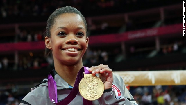 Douglas became the first African-American gymnast in Olympic history to win gold in the individual all-around event in 2012.