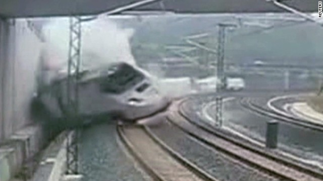 Deadly high-speed-train crash