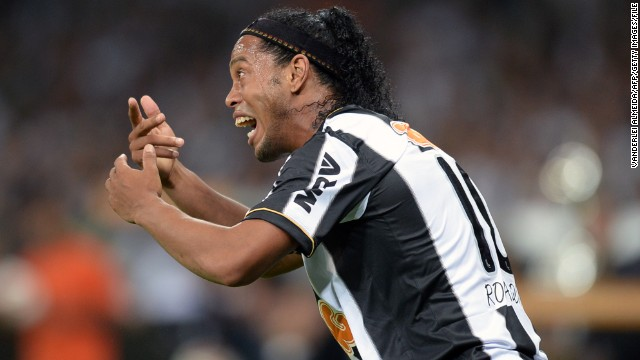 Ronaldinho has twice been voted world footballer of the year and won the World Cup with Brazil in 2002