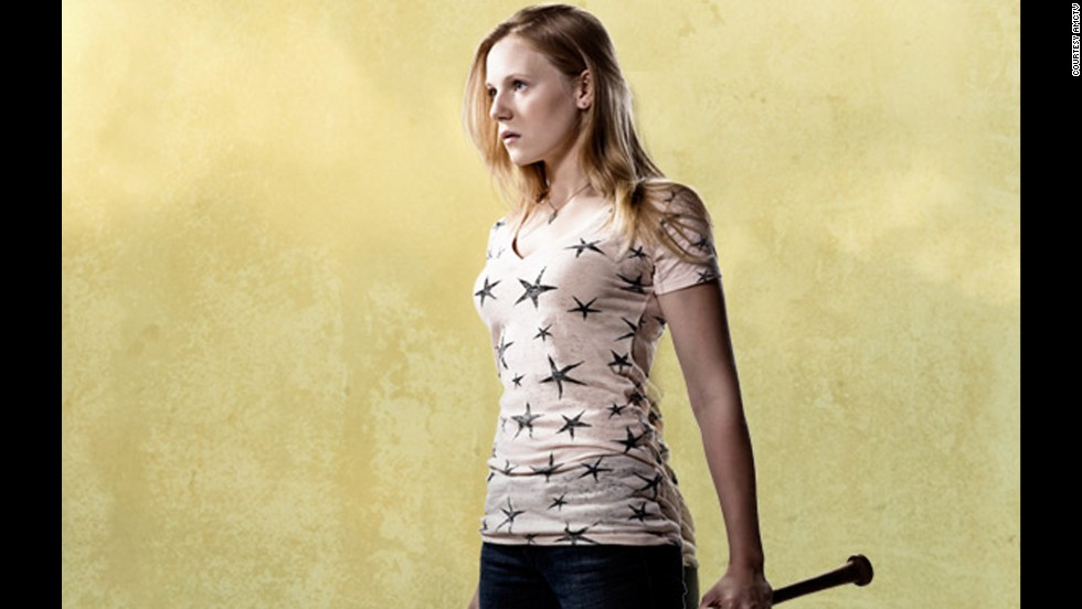 Amy (Emma Bell) was bitten by a zombie. Her sister, Andrea, had to put her down after she revived as a walker.