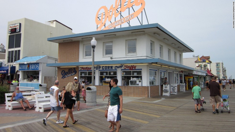 Rehoboth Beach, Delaware, is renowned for its relaxed vibe and excellent taffy.