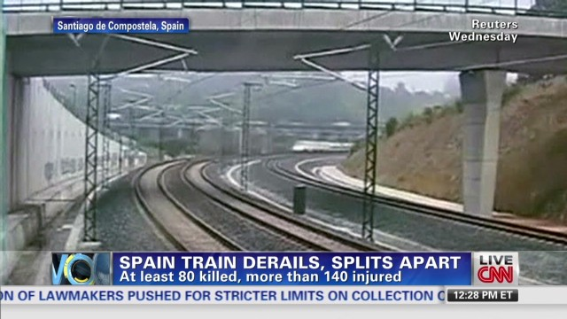 CNN iReporter describes train crash site