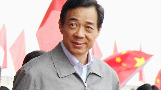 "Then Chongqing mayor Bo Xilai attends the ""Ode to Motherland"" singsong gathering in Chongqing, September 29, 2008."