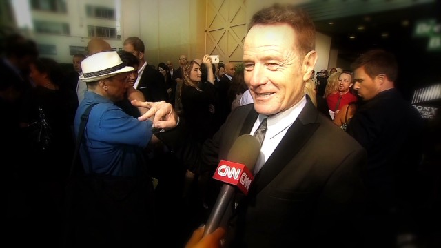 "Bryan Cranston's ""Breaking Bad"" tattoo"