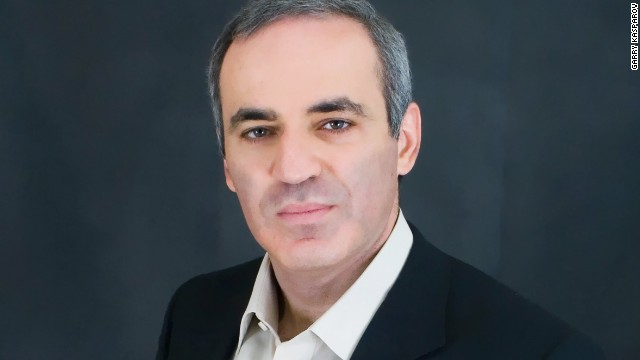 Chess champion and human rights activist, Garry Kasparov