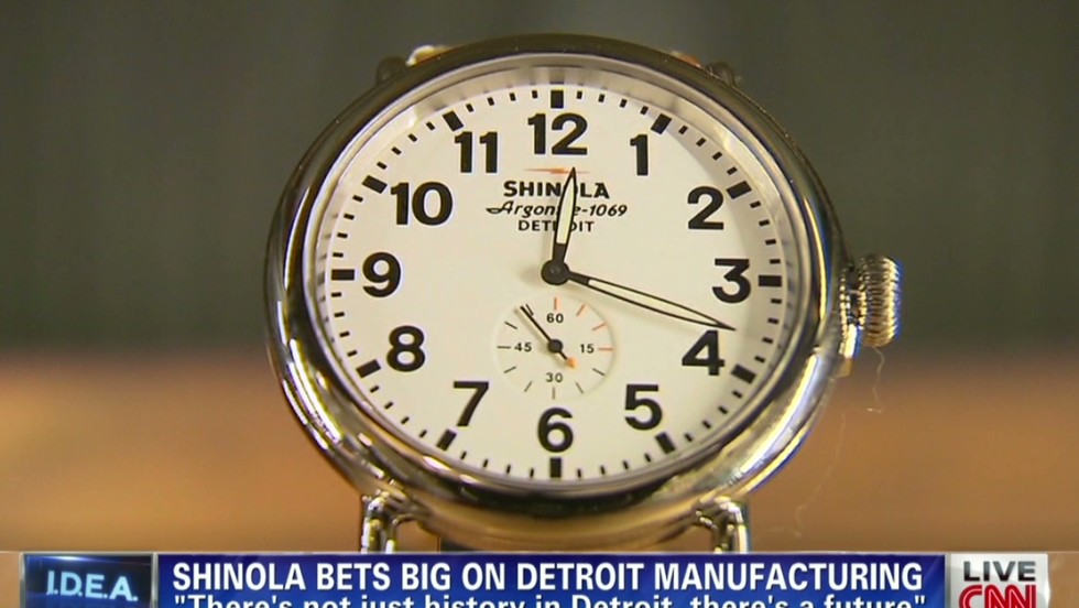 Betting big on Detroit manufacturing