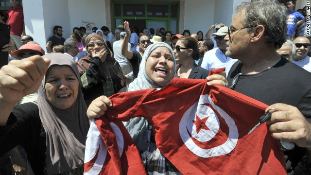 Tunisia protests over assassination