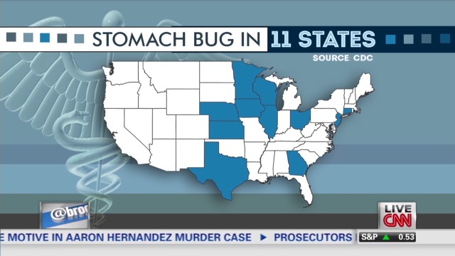Mystery virus in 11 states