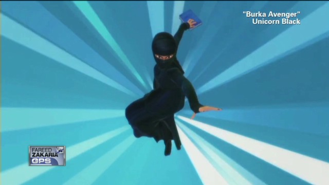Last Look: Superhero in a Burka