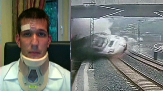Survivor of Spain train crash speaks