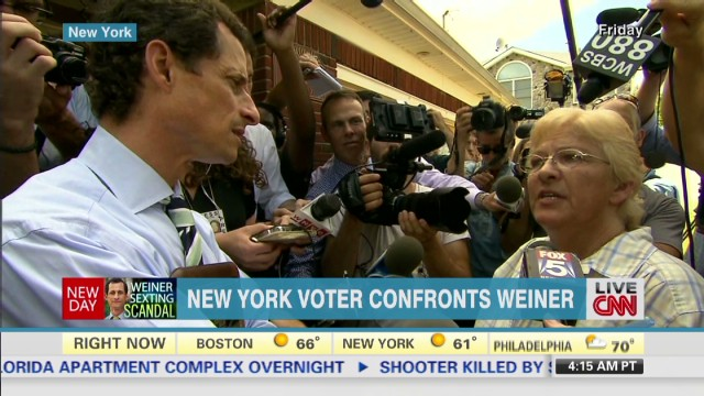 Weiner admits to new sexting