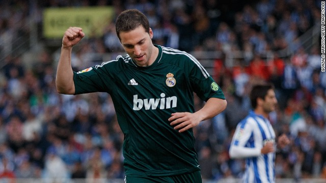 The Argentine striker's move to Serie A side Napoli was confirmed by a statement on Real Madrid's website.