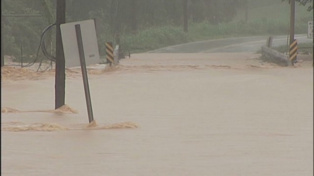 N.C. towns under water after heavy rain