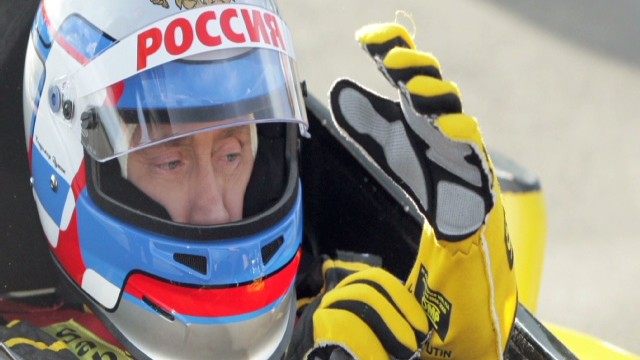 2010: Russia's Putin in the fast lane
