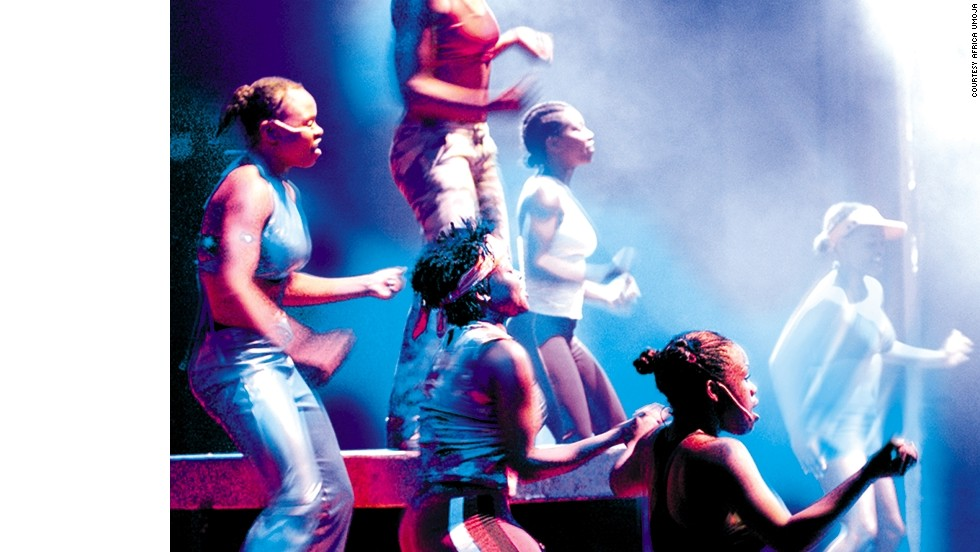 "Musical genres explored by Umoja include jazz, tribal sounds and urban ""Kwaito"" music."