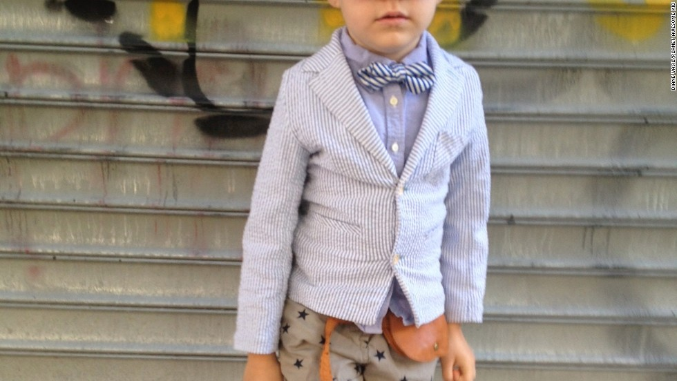 Planet Awesome Kid staff member Diane Vasil took this photo of her very stylish daughter.