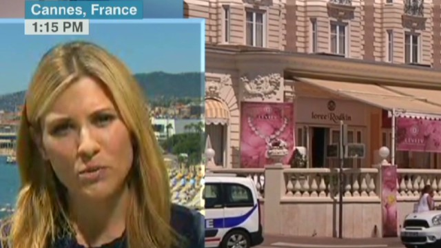 Epic diamond heist on French Riviera