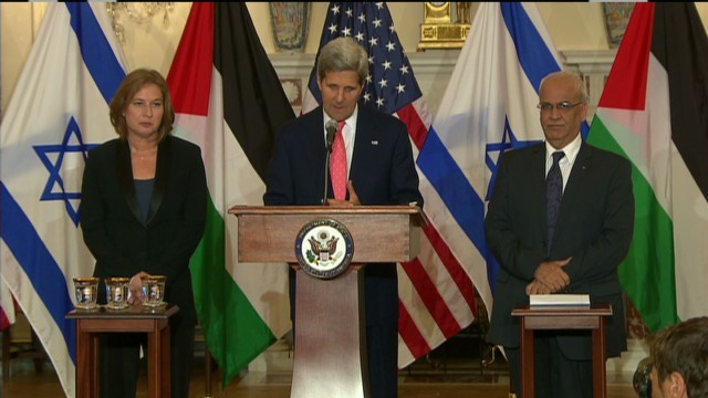 Israeli-Palestinian talks begin
