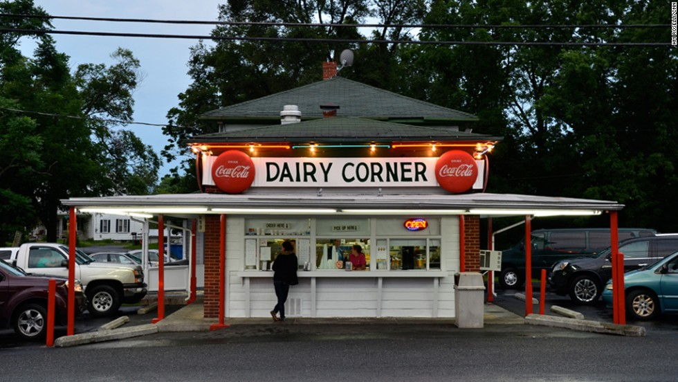 Since 1957, the Dairy Corner has sat just off of Route 7 in Winchester, Virginia.