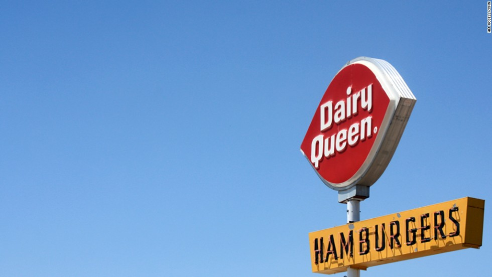There's always room for ice cream in Big Sky Country. Dairy Queen, West Yellowstone, Montana.