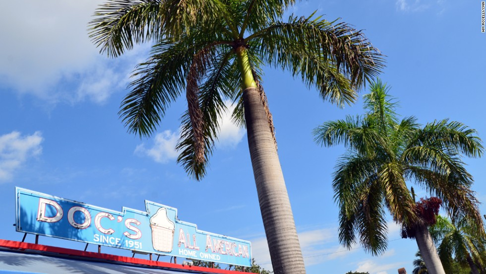 Doc's All American opened in 1951 in Delray Beach, Florida and is still going strong 62 years later.