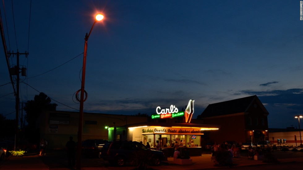 Carl's Frozen Custard in Fredericksburg opened in 1947.