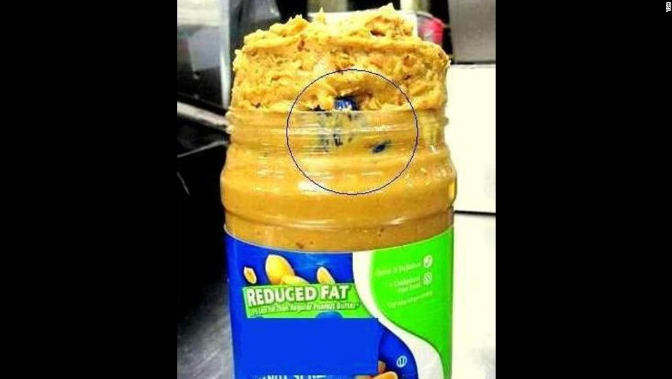 A traveler at Seattle-Tacoma International Airport attempted to get marijuana onto a flight in a jar of peanut butter.