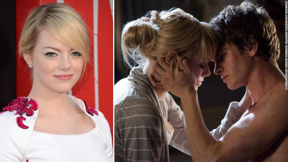 "The latest ""Spiderman"" sweetheart Emma Stone, who played love interest Gwen Stacy in the new remake, is a new entry to the highest-paid actress list."