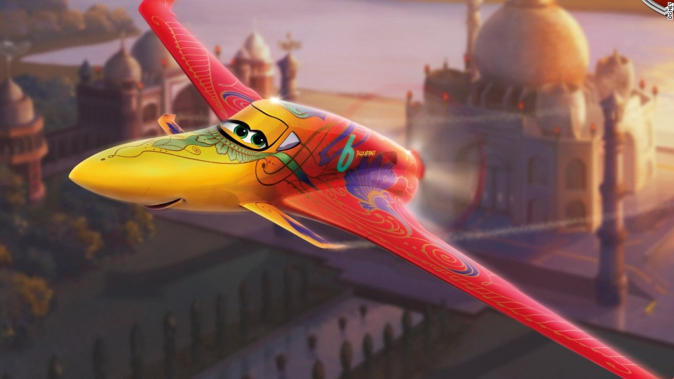 Meet the pilot who kept Disney's film 'Planes' flying ... Planes Movie Dusty And Ishani