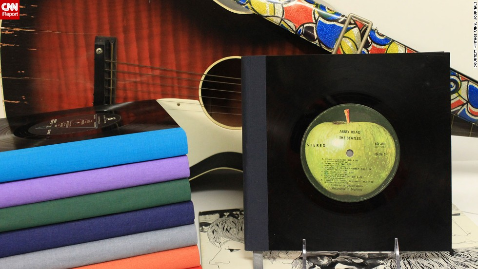 Some custom orders are pricier than others, particularly journals featuring Beatles albums. They're harder to find and usually more expensive, Pietrak said.