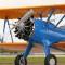 planes stearman biplane