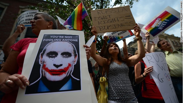 Could Russia arrest gay athletes?