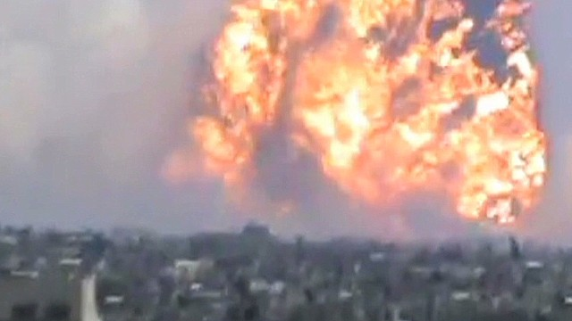 Report: Huge explosion kills 40 in Syria