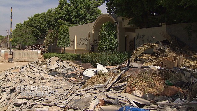 Return to Benghazi: Embassy under attack