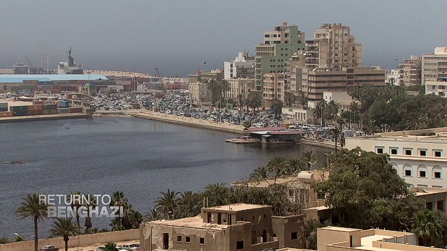 Return to Benghazi: A city divided