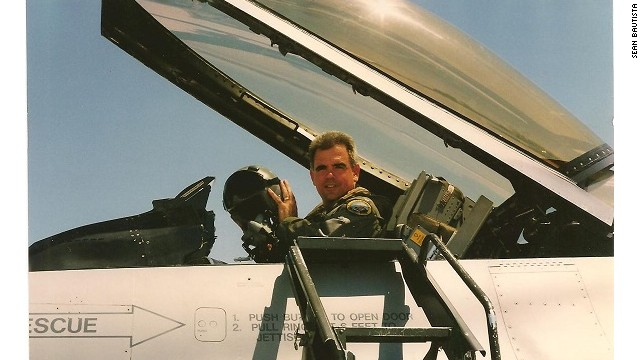 """""""Planes"""" consultant Sean Bautista has flown small aircraft, commercial airliners and has served in the Air National Guard as an F-16 fighter pilot."""
