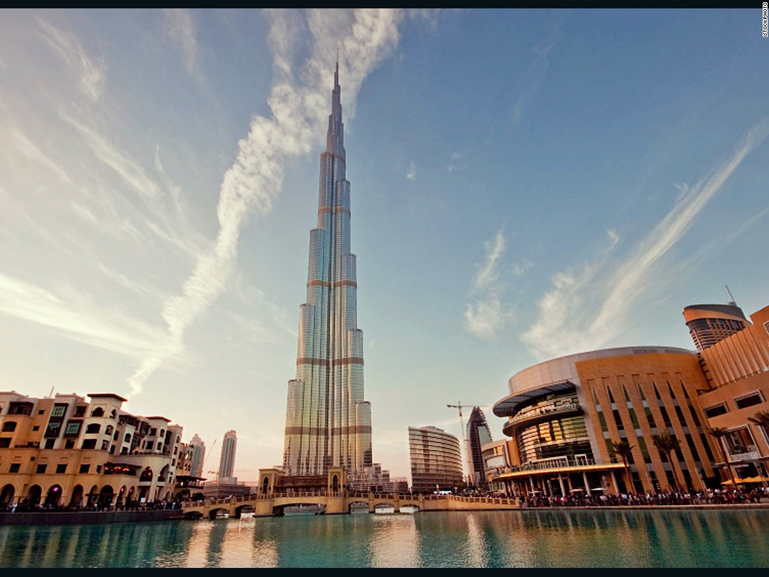 Claiming the crown for the world's tallest building upon its completion in 2010, the Burj Khalifa stands a massive 198 meters (650 feet) above its nearest completed competitor.